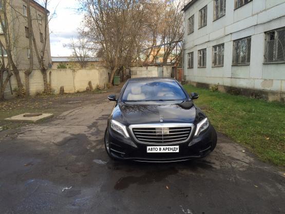 Прокат и аренда Мерседес-Бенц w222 недорого в Москве на сайте auto-v-arendu.ru - дополнительное фото авто