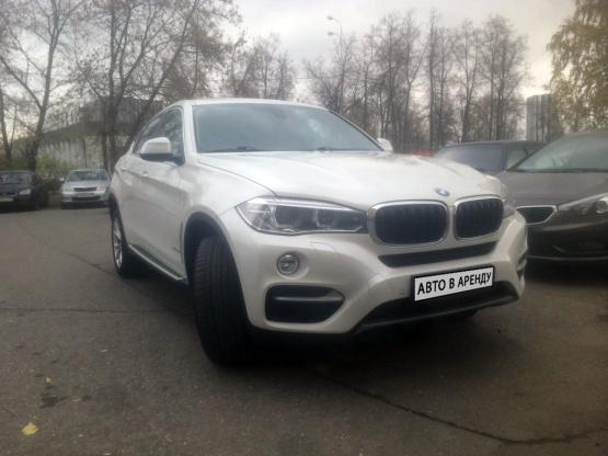 Прокат и аренда БМВ Х6 недорого в Москве - общий вид авто