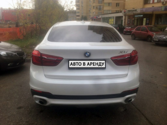 Прокат и аренда БМВ Х6 недорого в Москве на сайте auto-v-arendu.ru - дополнительное фото авто