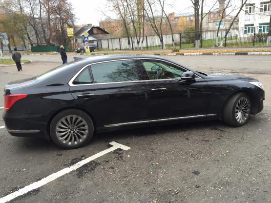 Прокат и аренда Хендай Экус недорого в Москве на сайте auto-v-arendu.ru - дополнительное фото авто